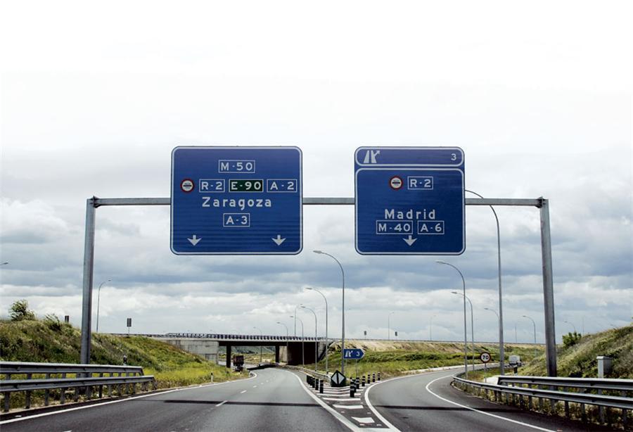 Los precios en los peajes españoles son muy variados.
