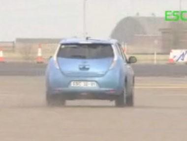 Euro NCAP aprueba el ESC del Leaf