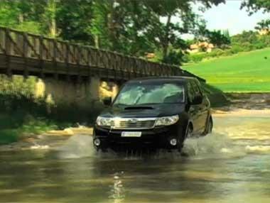 El nuevo Subaru Forester, a prueba