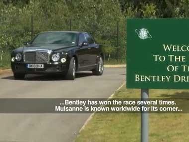 Bentley Mulsanne: elegancia deportiva