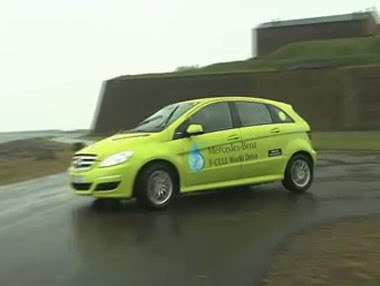 Mercedes Clase B F-CELL World Drive