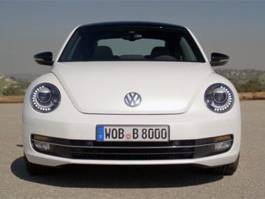 Nuevo VW Beetle: en movimiento