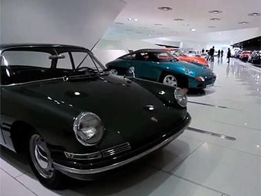 Imágenes del Museo Porsche