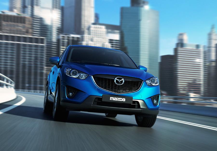 El frontal del Mazda CX-5 ha sido elaborado con un diseño dinámico.