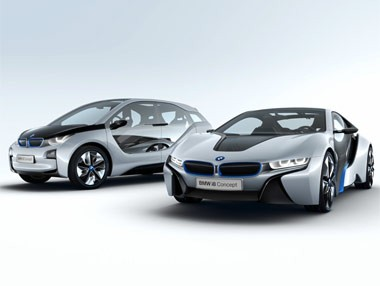 BMW i3 e i8 Concept: movilidad sostenible