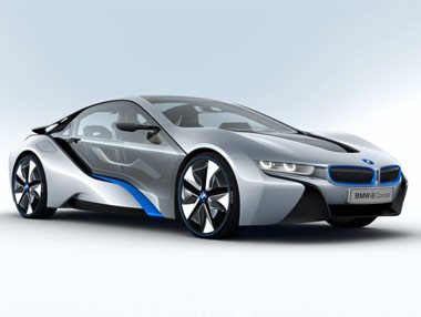 BMW i8 Concept: deportivo híbrido