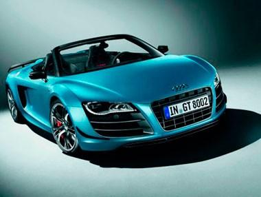 Audi R8 GT Spyder: alucinarás
