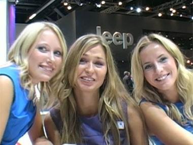 Las chicas de Frankfurt 2011
