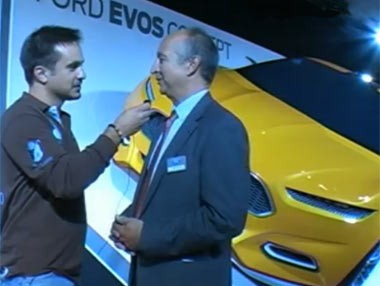 Ford Evos Concept y Fiesta ST