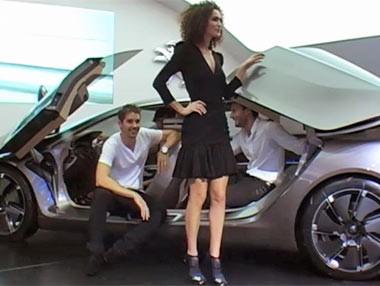 Peugeot HX1: el coche camaleón