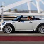Mini Roadster en movimiento