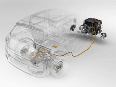 Peugeot 3008 HYbrid4: transmisión