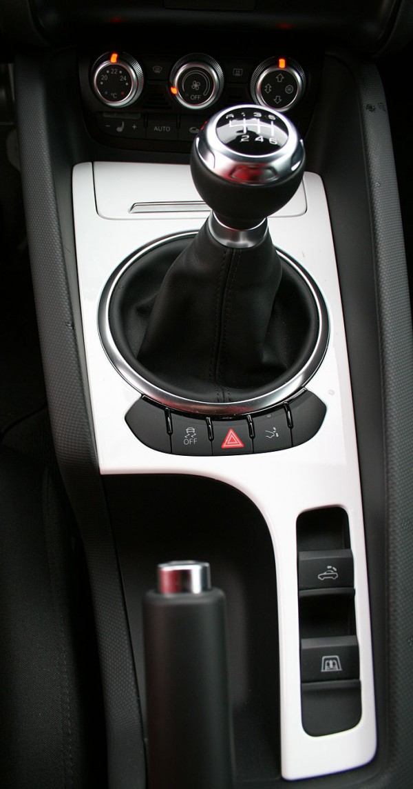 Túnel central del Audi TT Roadster 1.8 TFSI