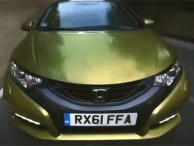 Honda Civic 2012, vídeo promocional