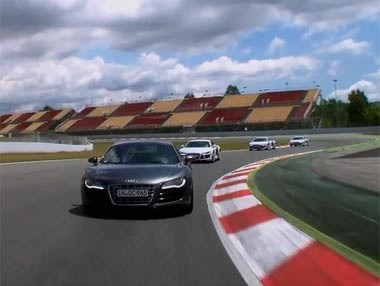 Audi Driving Experience: Sportscar R8 2011