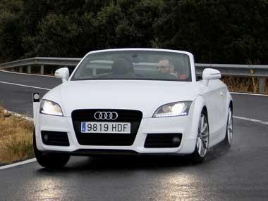El nuevo Audi TT en movimiento