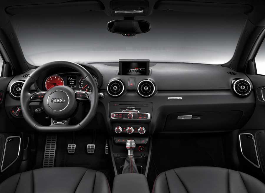 Así es el interior del nuevo Audi A1 Quattro.