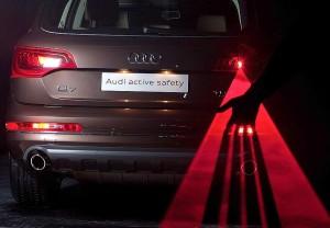 La tecnología láser hace más seguras las luces antiniebla traseras.