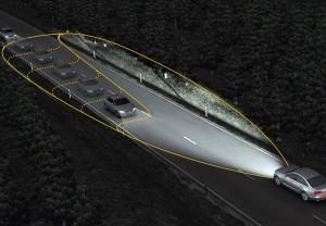 La nuega generación de faros permitirá una iluminación selectiva.