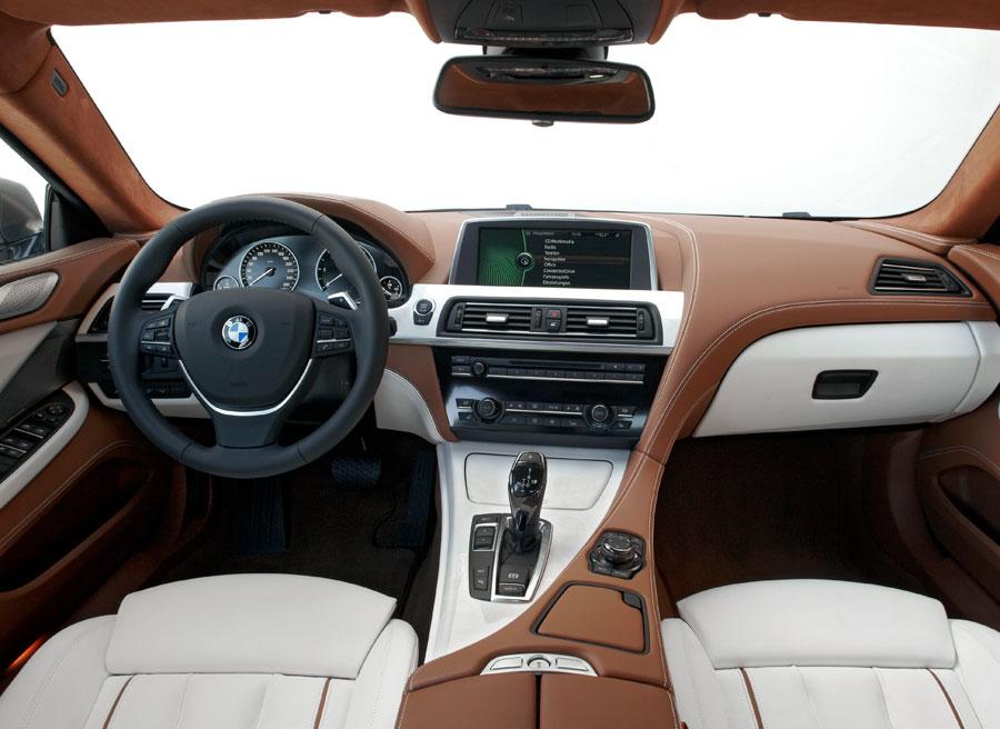 Nuevo BMW Serie 6 Gran Coupe interior