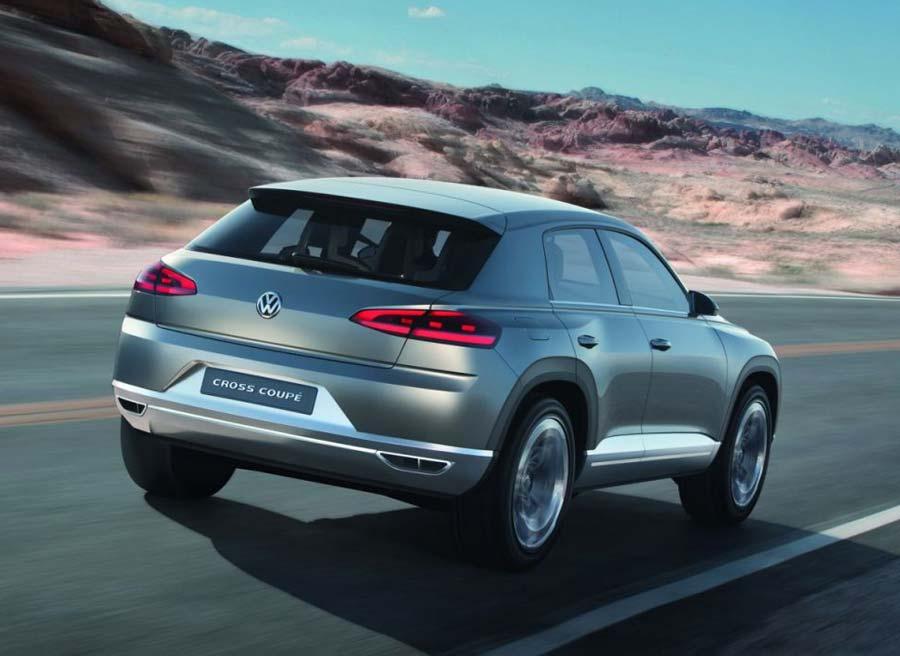 VW Cross Coupé Concept, el punto de partida para los nuevos SUV de la marca alemana.