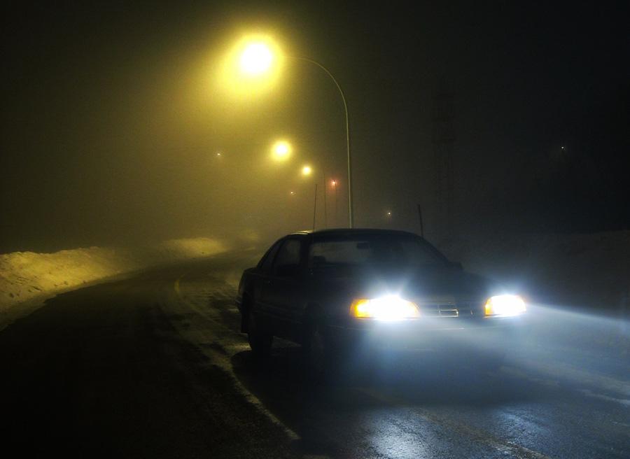 Cómo concducir con niebla.