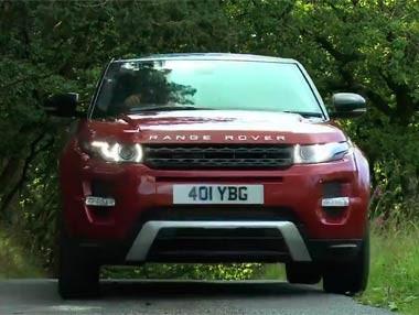 El Range Rover Evoque, 'off-road'