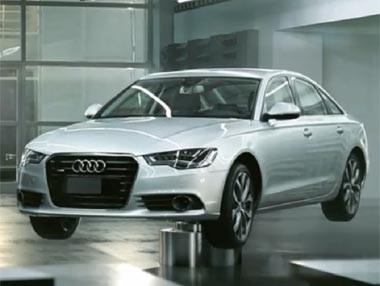 Audi A6: maleable