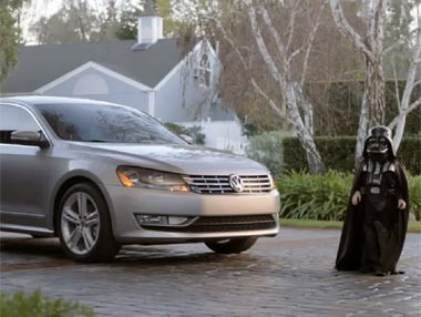 Volkswagen Passat y Darth Vader