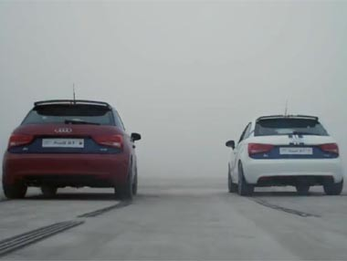 Audi comienza su Madrid-Barça