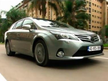 Nuevo Toyota Avensis, para 2012