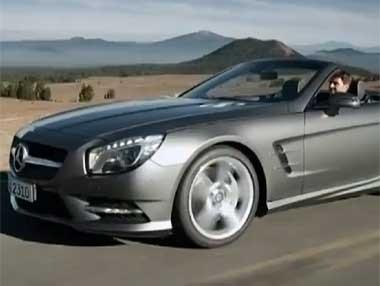 El nuevo Mercedes SL en movimiento