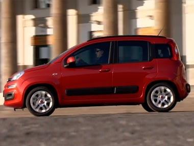 El Fiat Panda 2012, en movimiento