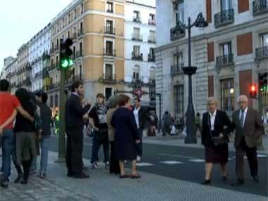 Los peatones como parte del tráfico