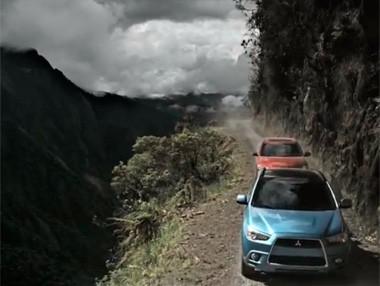 Mitsubishi Outlander: la prueba más peligrosa