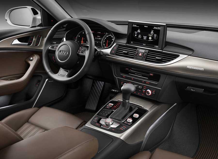Interior del Audi A6 Allroad.