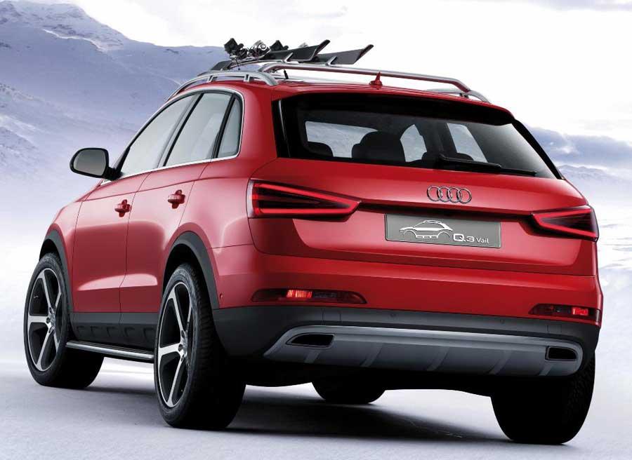 La doble salida del tubo de escape es otra de las señas de identidad de esta nueva versión del Audi Q3.