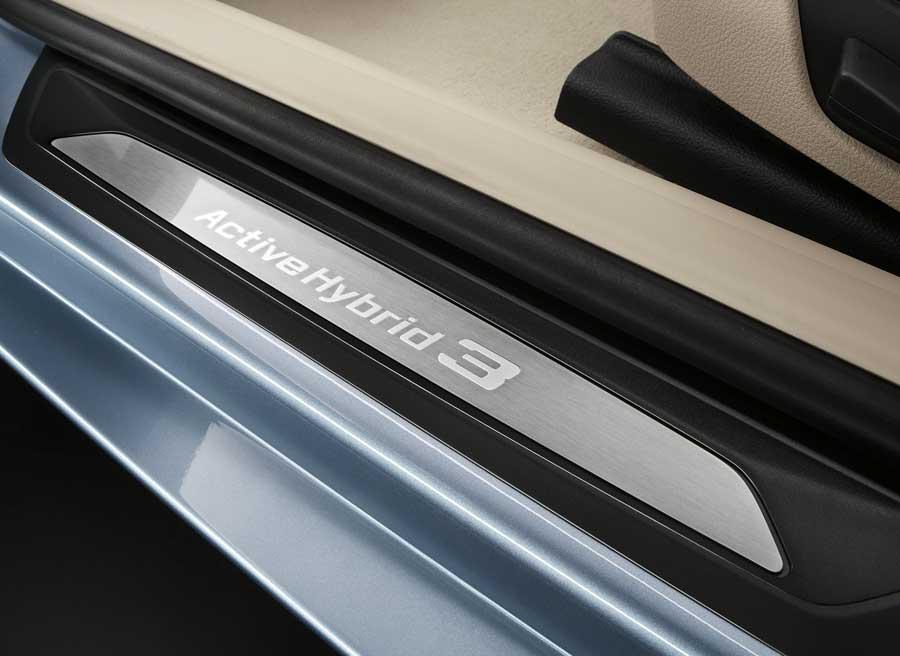 Como todos los BMW, el ActiveHybrid 3 está plagado de detalles.