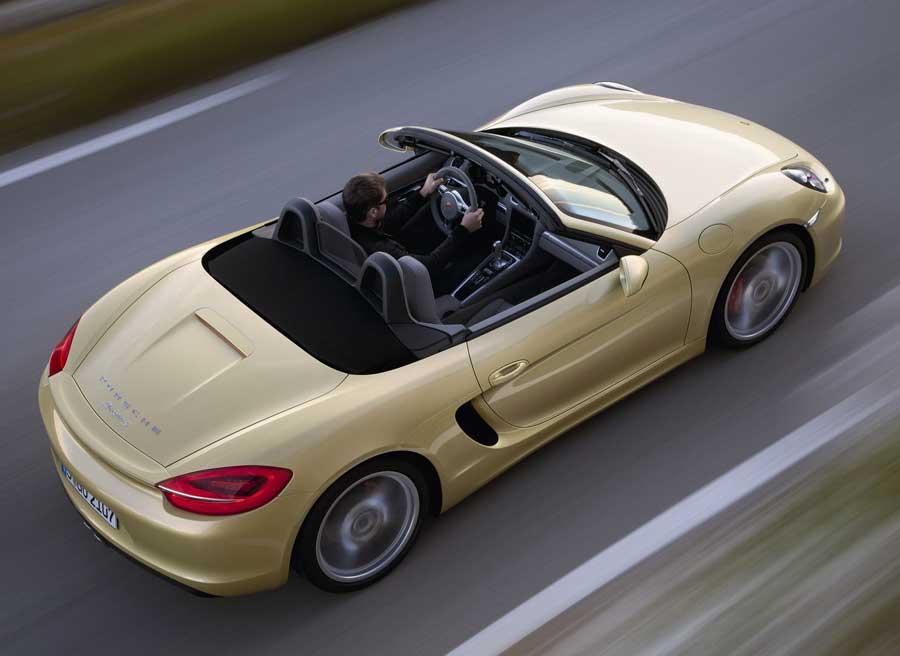 Cambios estéticos y a nivel mecánico protagonizan la nueva generación del Porsche Boxster.