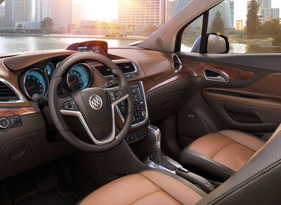 El interior del Buick Encore tiene un claro aroma a General Motors.