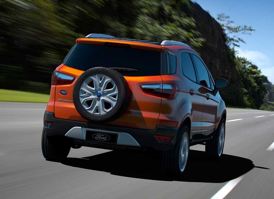 Así es la trasera del nuevo Ford EcoSport