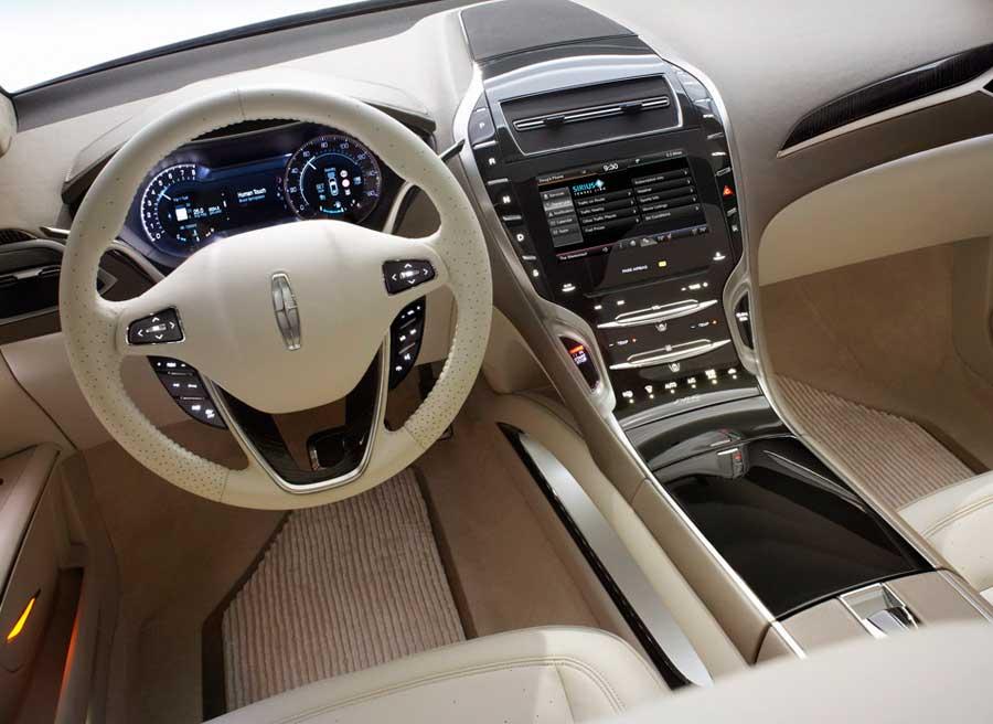 El interior del nuevo modelo de Lincoln rebosa calidad por los cuatro costados.