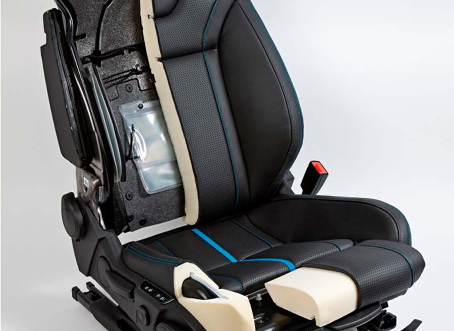 Las ténicas utilizadas en la construcción de los nuevos asientos permiten un ahorro del 45% del peso de los mismos.