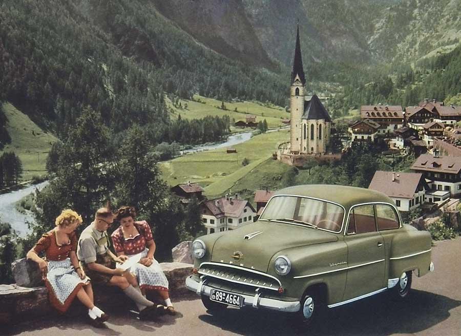 Opel Olympia: fabricado antes de la Segunda Guerra Mundial, se hizo muy popular tras ésta.