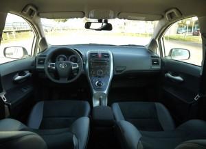 Toyota Auris interior, Rubén Fidalgo
