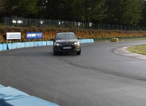 Citroën DS4 Sport HDi 160cv circuito A Pastoriza, Rubén Fidalgo