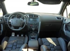 Citroën DS4 interior, Rubén Fidalgo