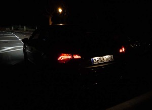 Citroën DS4 luz exterior, Rubén Fidalgo