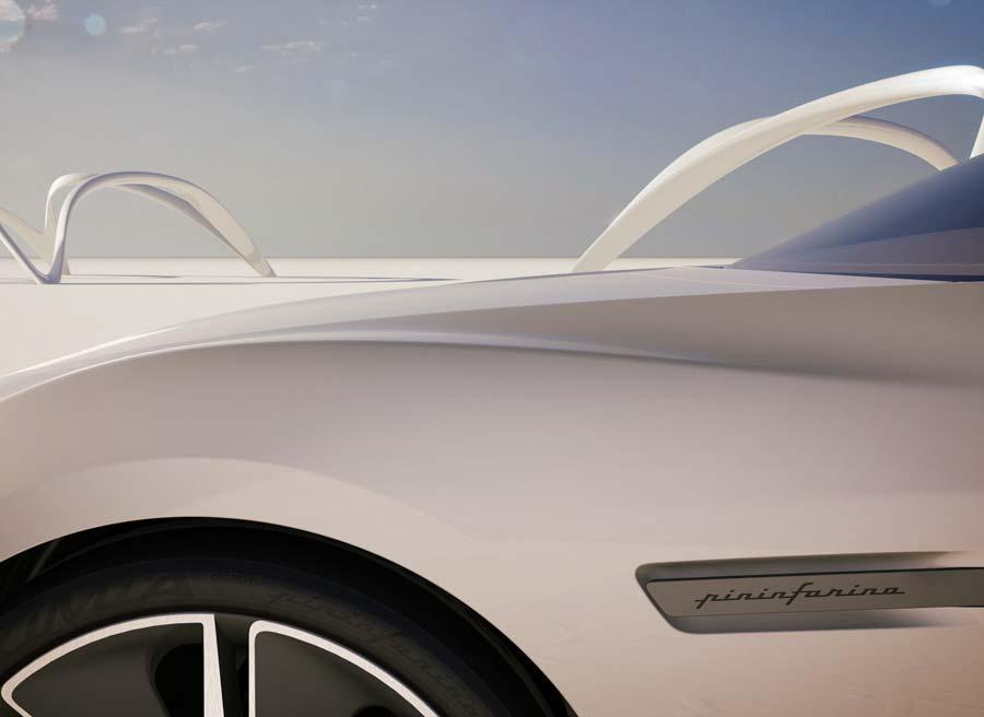 Pininfarina Cambiano: diseño futurista, elegante y deportivo.