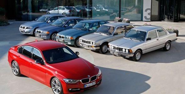 "BMW Serie 3, casi un ""cuarentón"""